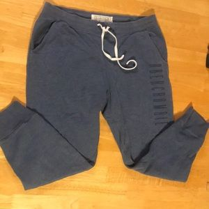 XL Abercrombie sweat pants, minor discolorations